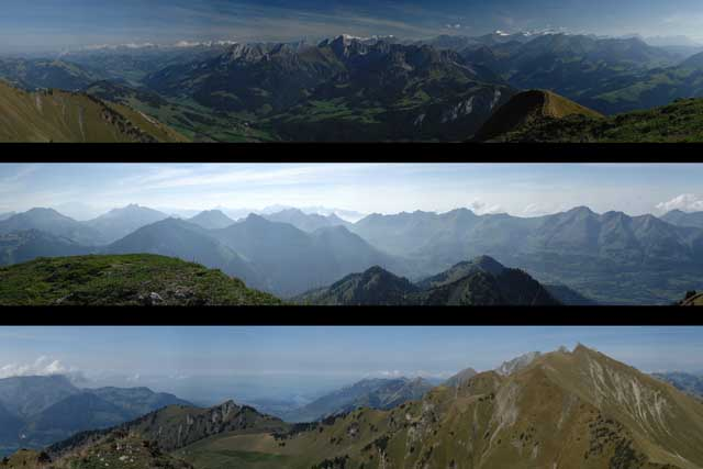 360 degree Alpine panorama